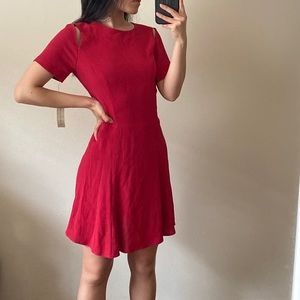 NWT Reformation Red Cutout Mini Dress
